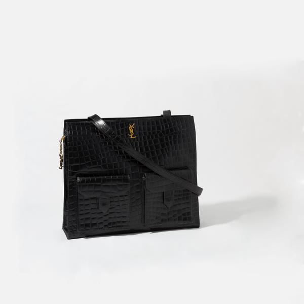Saint Laurent Vintage Leather Tote